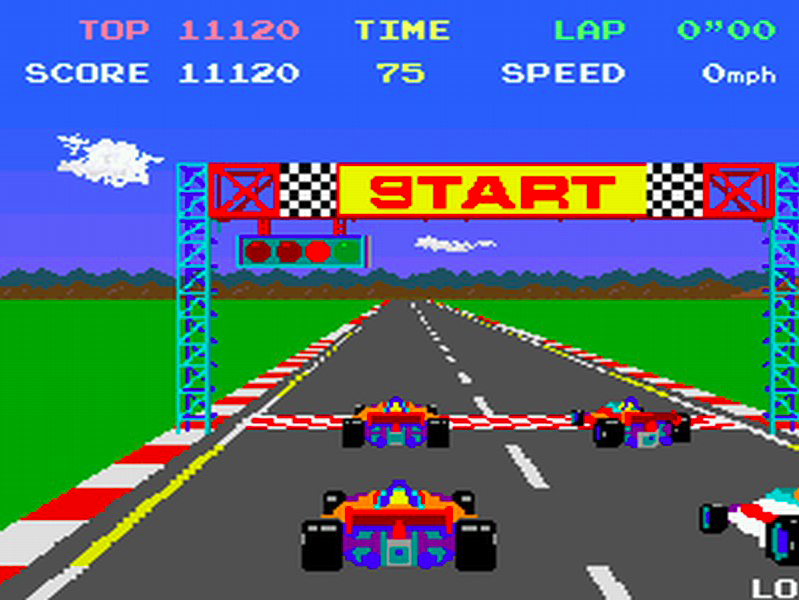 How it all started for me (Pole Position, Coin Op Arcade