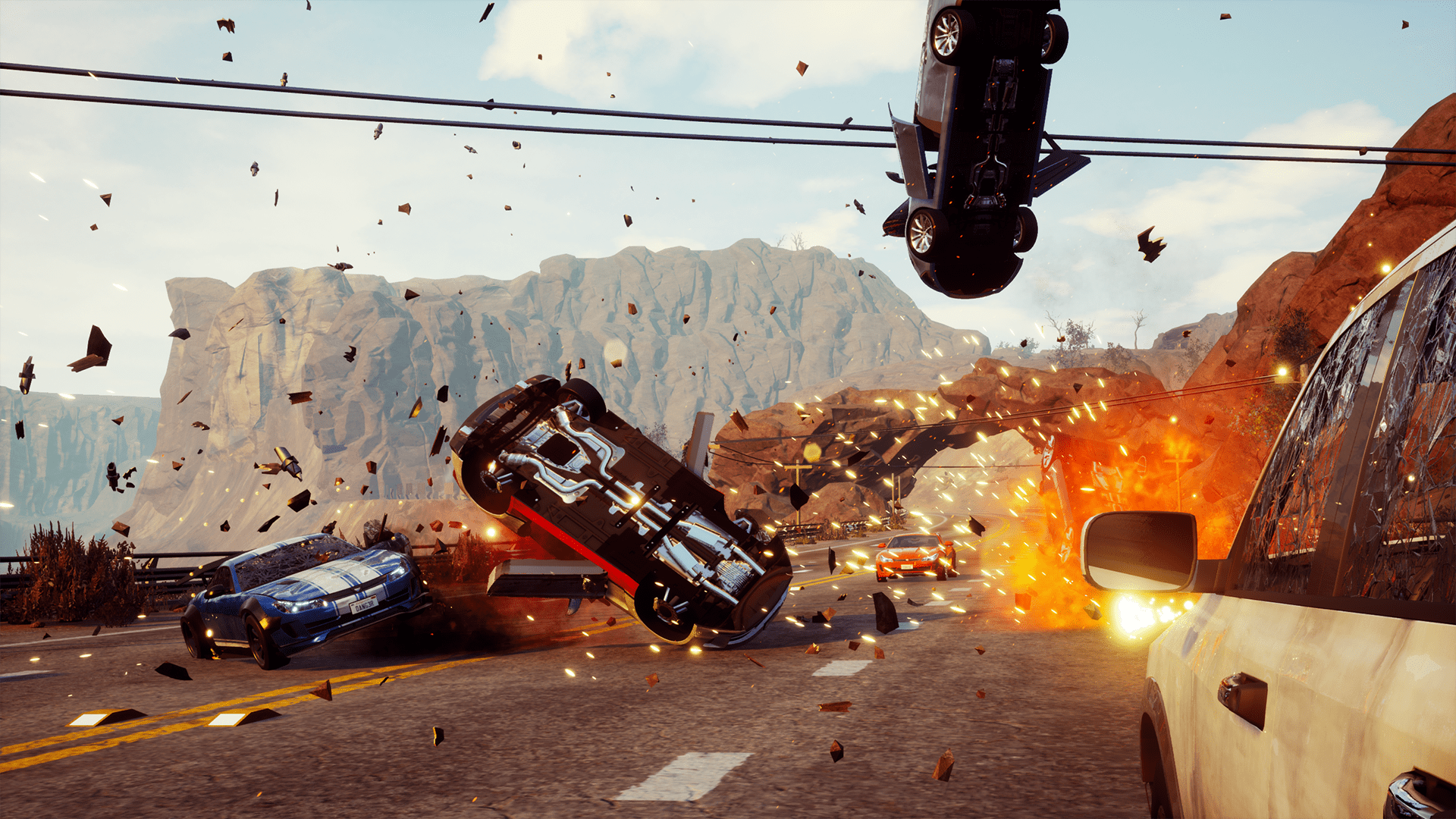 Arcade Racing Game Dangerous Driving 2019 Single Player Online