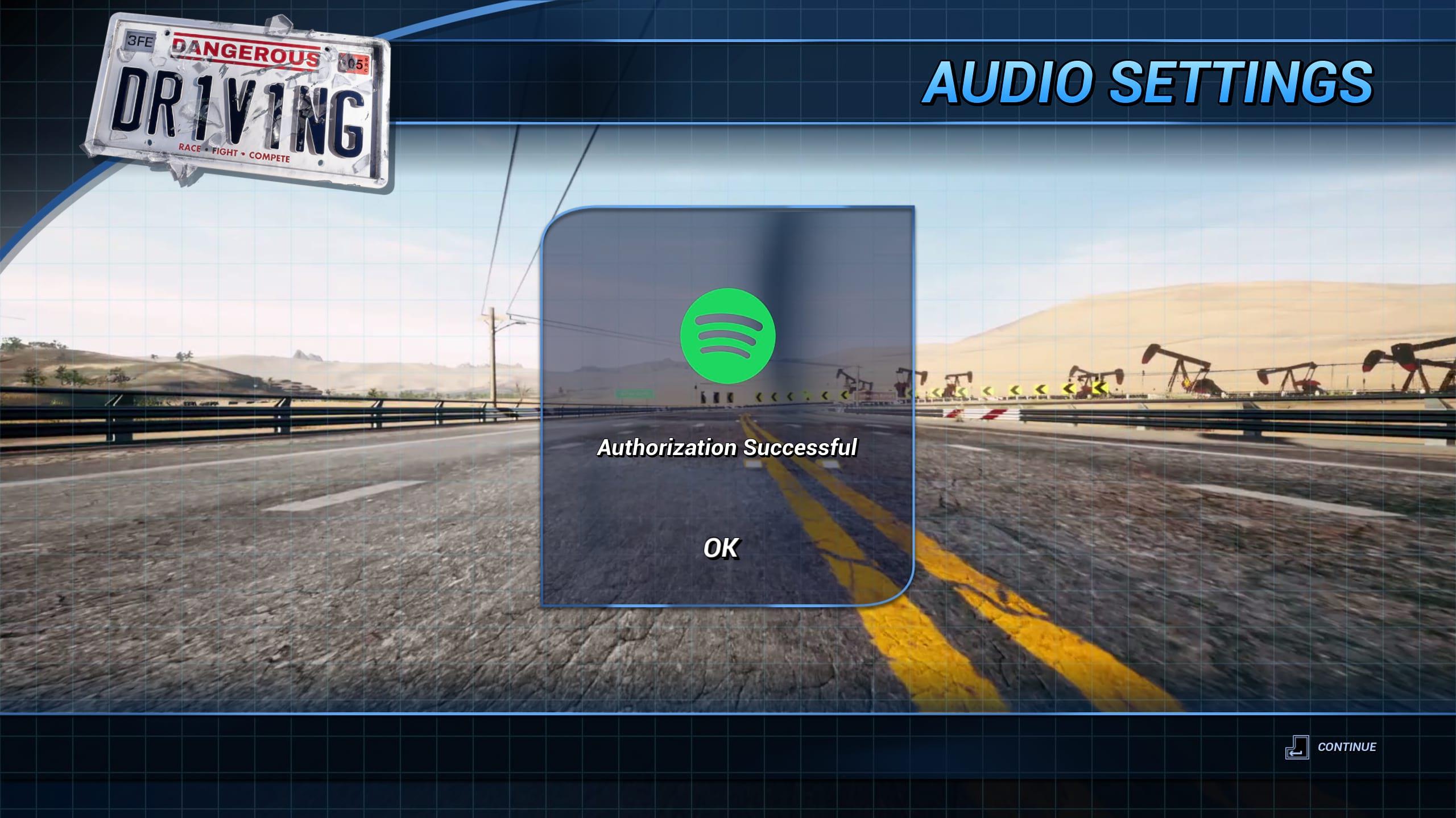Dangerous Driving Spotify - Three Fields Entertainment